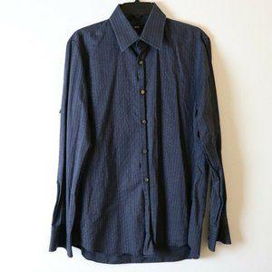 Hugo Boss M Shirt Charcoal Classic Button Down